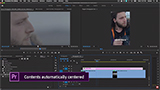 Auto Reframe, l'intelligenza artificiale identifica il soggetto e taglia il video in automatico in Adobe Premiere Pro