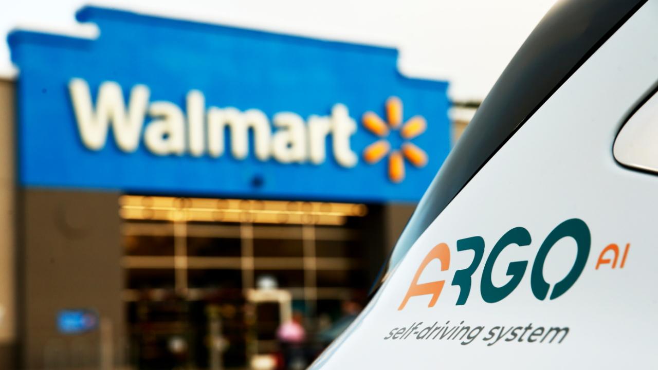 Argo AI Walmart