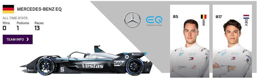 Nyck De Vries - Formula E