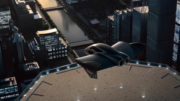 Mobilità aerea urbana, Porsche lavora alla sua auto elettrica volante