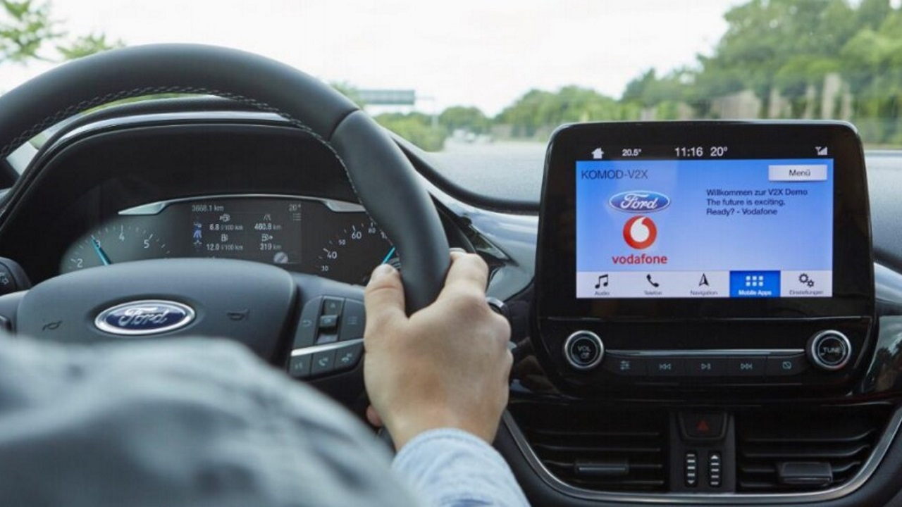 Ford e Vodafone insieme per semplificare la ricerca dei parcheggi liberi