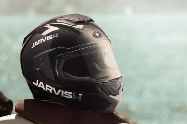 buon servizio shop a basso costo Casco da moto smart? ecco Jarvish con display AR e supporto ...