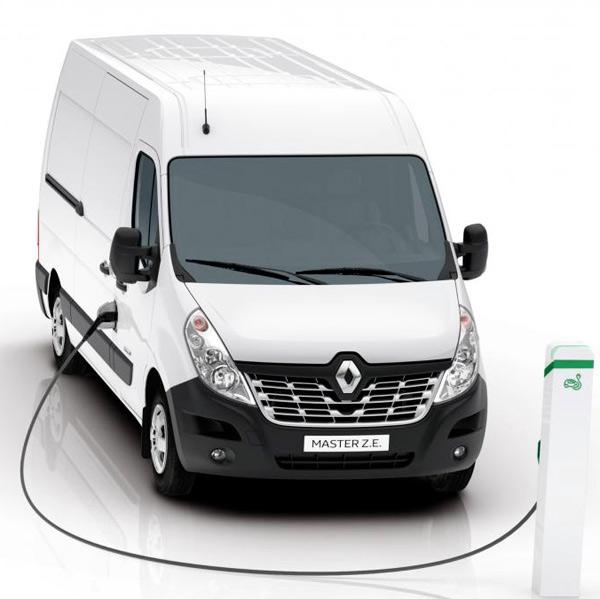 200km di autonomia per il furgone elettrico renault master z e grazie alle batterie lg. Black Bedroom Furniture Sets. Home Design Ideas