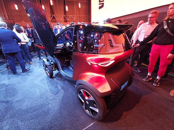 Seat Minimò: la microcar elettrica che sfida Renault Twizy