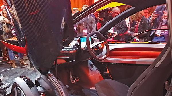 Seat Minimò: comfort di un'auto, agilità di una moto