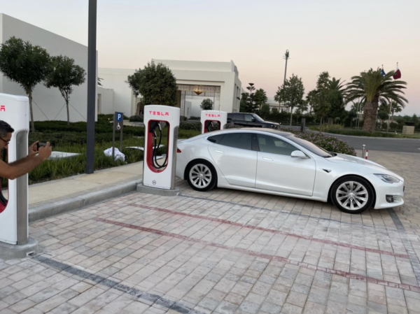 Tesla Supercharger in Africa